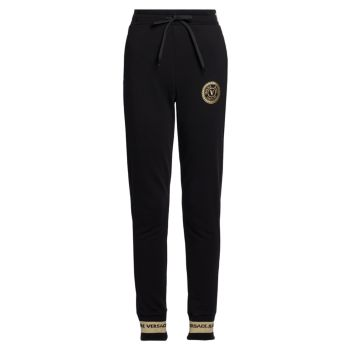 Logo Drawstring Joggers Versace Jeans Couture
