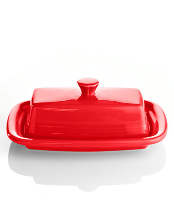 Scarlet XL Covered Butter Dish FIESTA