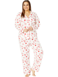 Long Sleeve Classic Notch Collar Pajama Set (Cotton Spandex) BedHead Pajamas