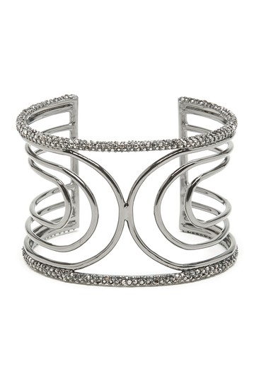 Pave Dorado Crystal Wide Cuff SOLE / SOCIETY