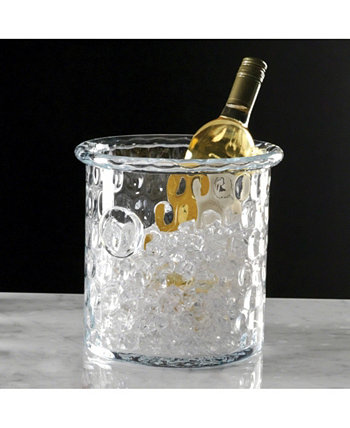 Honeycomb Ice Bucket or Cooler with Rolled Edge Global Views