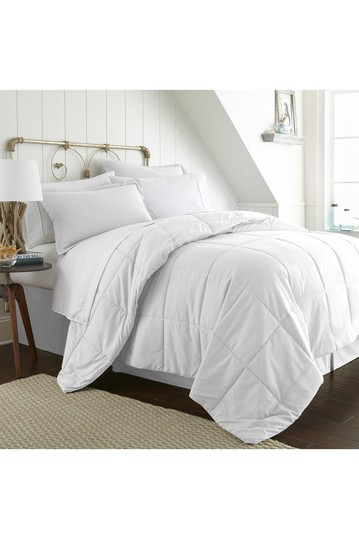 Twin Premium Bed In A Bag - White IENJOY HOME