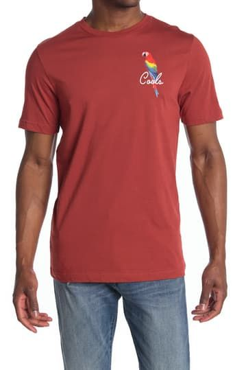Parrot Cools Graphic T-Shirt Barney Cools