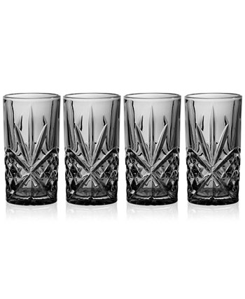 Dublin 4-Pc. Highball Glass Set Godinger