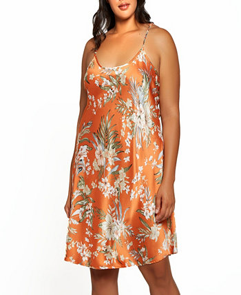 Plus Size Bella Floral Day and Night Chemise Dress ICollection