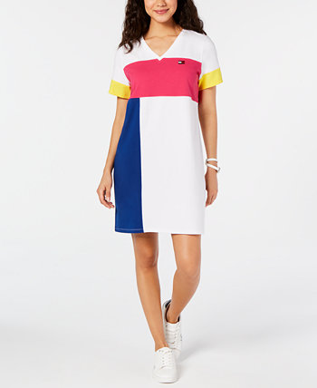 Colorblocked T-Shirt Dress Tommy Hilfiger