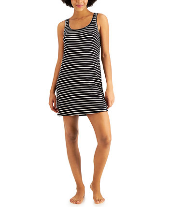 Ultra-Soft Ruched Racerback Nightgown, Created for Macy's Alfani