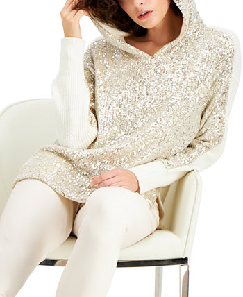 INC Sequin-Front Hoodie, Created for Macy's INC International Concepts