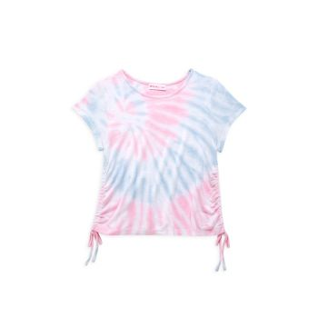 Little Girl's Tie-Dye Drawstring T-Shirt Design History