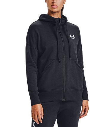 Rival Fleece Zip-Front Hooded Sweatshirt Under Armour