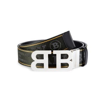 Bally Reversible Mirror B Buckle Belt BALLY