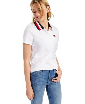 Logo Tipped Polo Tommy Hilfiger