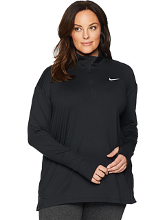 Element 1/2 Zip Top (Sizes 1X-3X) Nike