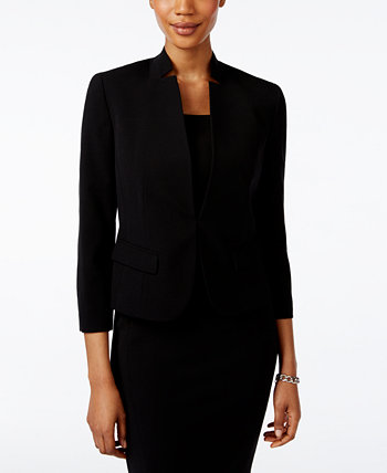 Clasp-Front Blazer Nine West