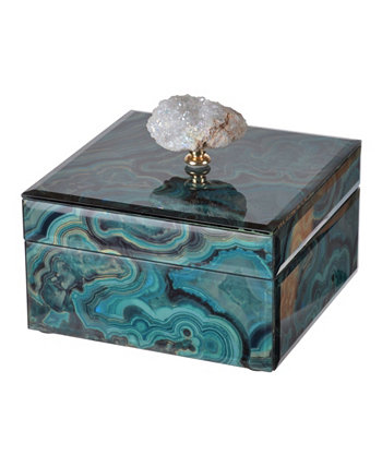 Bethany Marbled Box, Small AB Home