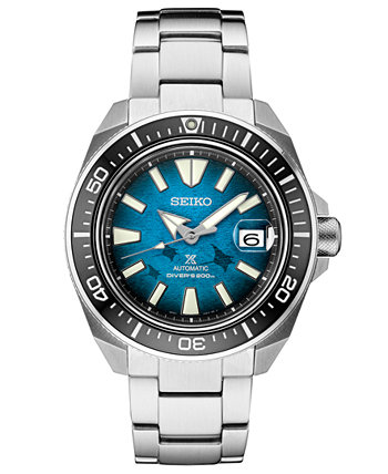 Men's Automatic Prospex Manta Ray Diver Stainless Steel Watch 44mm, A Special Edition Seiko