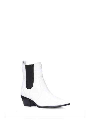 Willa Croc Embossed Chelsea Boot Paige