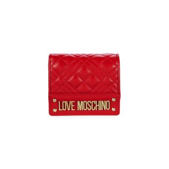 Quilted Bi-Fold Wallet LOVE Moschino