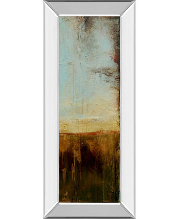 """Flying Without Wings III by Erin Ashley Mirrored Framed Print Wall Art - 18"""" x 42"""" Classy Art"""