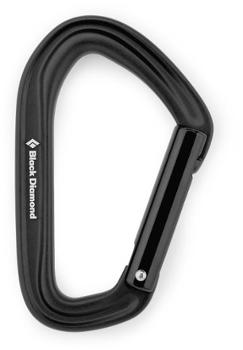 HotForge Straight Gate Carabiner Black Diamond