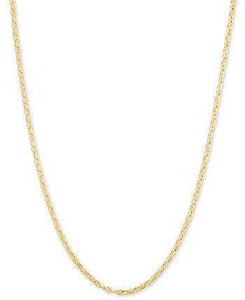 """Anchor 24"""" Chain Necklace in 14k Gold Italian Gold"""