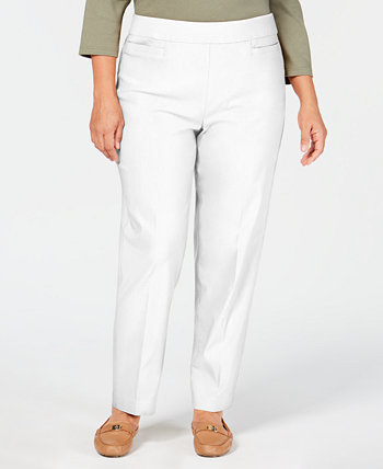 Plus Size Classic Allure Tummy Control Pull-On Pants Alfred Dunner