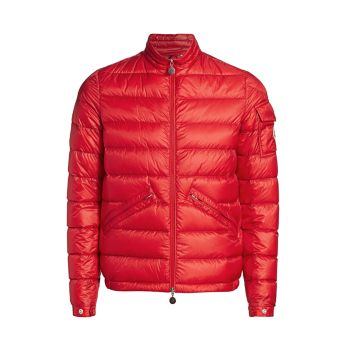 Agay Down Puffer Coat Moncler