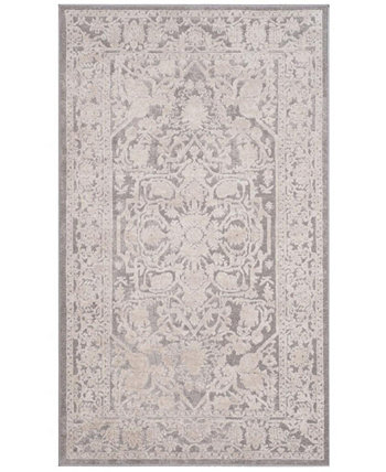 Reflection Light Gray and Cream 3' x 5' Area Rug Safavieh