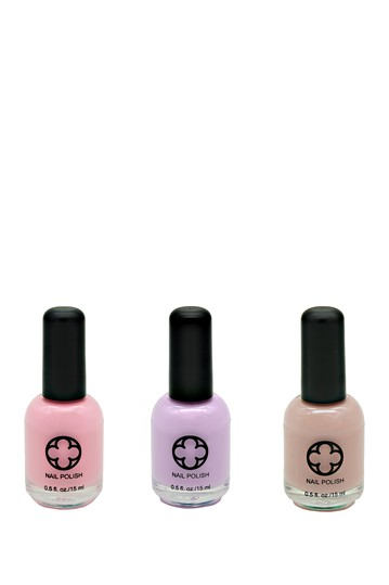 3-Piece Nail Polish Set - Cotton Candy Glamour Status