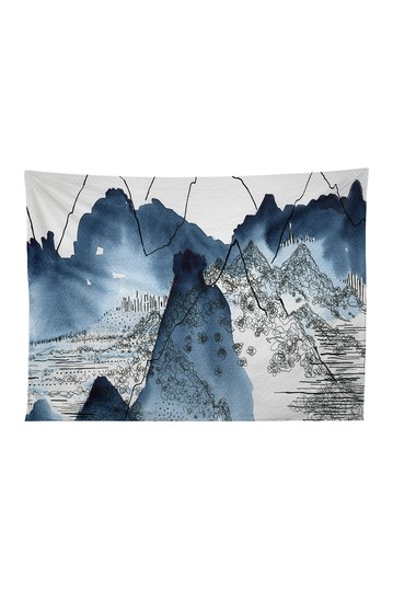 Elena Blanco Love of Mountains Tapestry Deny Designs