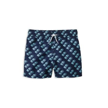 Baby's, Little Boy's, & Boy's Fish Swim Trunks Janie and Jack