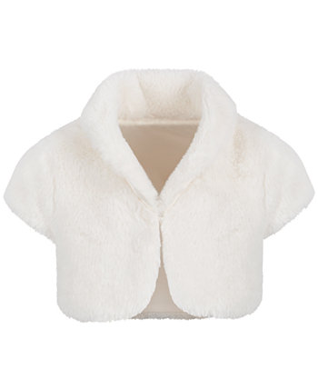 Baby Girls Faux-Fur Shrug, Created for Macy's First Impressions