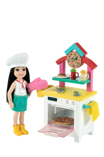 Барби (R) Chelsea (R) Can Be Pizza Chef Playset Mattel