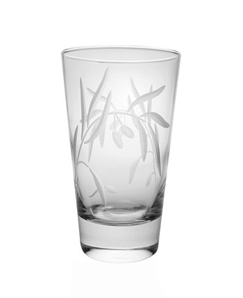 Olive Cooler Highball 15Oz - Set Of 4 Glasses Rolf Glass