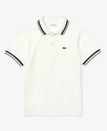 Little Boys Short Sleeve Cotton Petit Pique Polo Shirt Lacoste