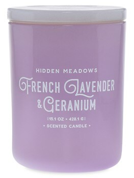 French Lavender & Geranium Candle DW HOME