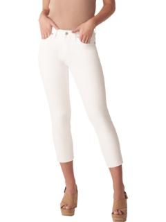 Most Wanted Mid-Rise Straight Crop Jeans L43218STF011 Silver Jeans Co.