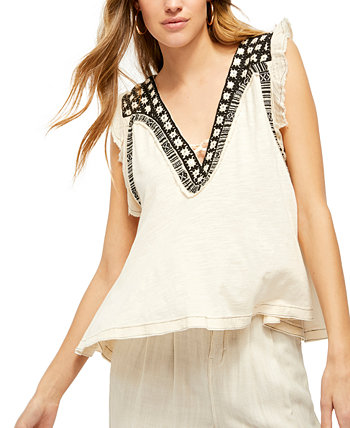 Embroidered Embellished Market Place Top Free People