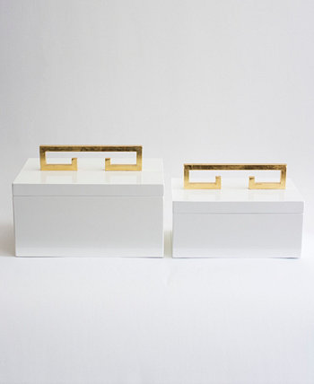 Avondale Boxes (Set of 2) Couture