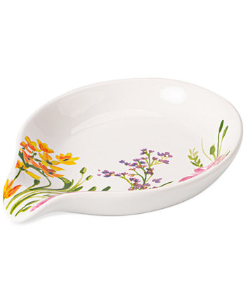 Floral Spoon Rest, Created for Macy's Martha Stewart Collection