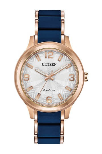 Women's Eco-Drive Silicone Bracelet Watch, 36mm Citizen