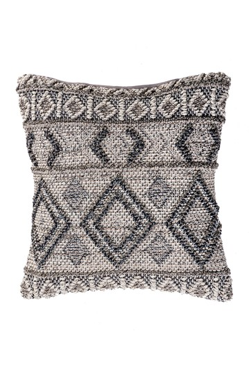 Maia Textured Moroccan Throw Pillow Cover NuLOOM