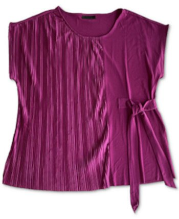 Pleated Side-Tie Top, Created for Macy's Alfani