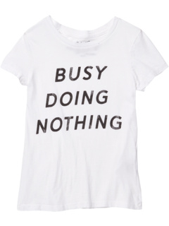 Vintage Cotton Busy Doing Nothing Tee (Big Kids) The Original Retro Brand Kids