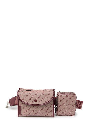Eco Monogram Utility Belt Bag Stella McCartney