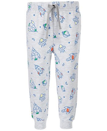 Baby Boys Rocket-Print Jogger Pants, Created for Macy's First Impressions