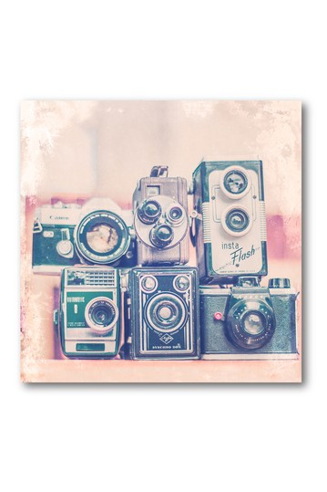 Vintage Camera II Gallery Wrapped Canvas Wall Art Courtside Market