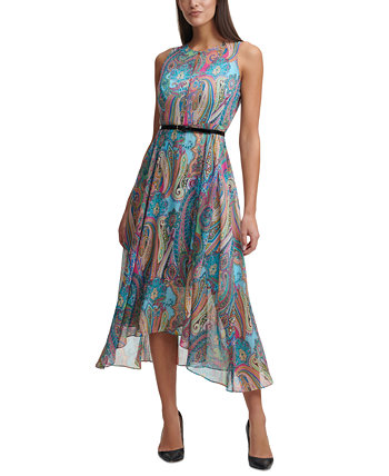 Printed Belted Maxi Dress Tommy Hilfiger