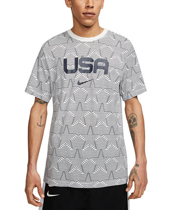 Men's USA Allover Print T-Shirt Nike
