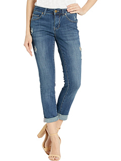 Carter Girlfriend Crosshatch Denim Jeans Jag Jeans